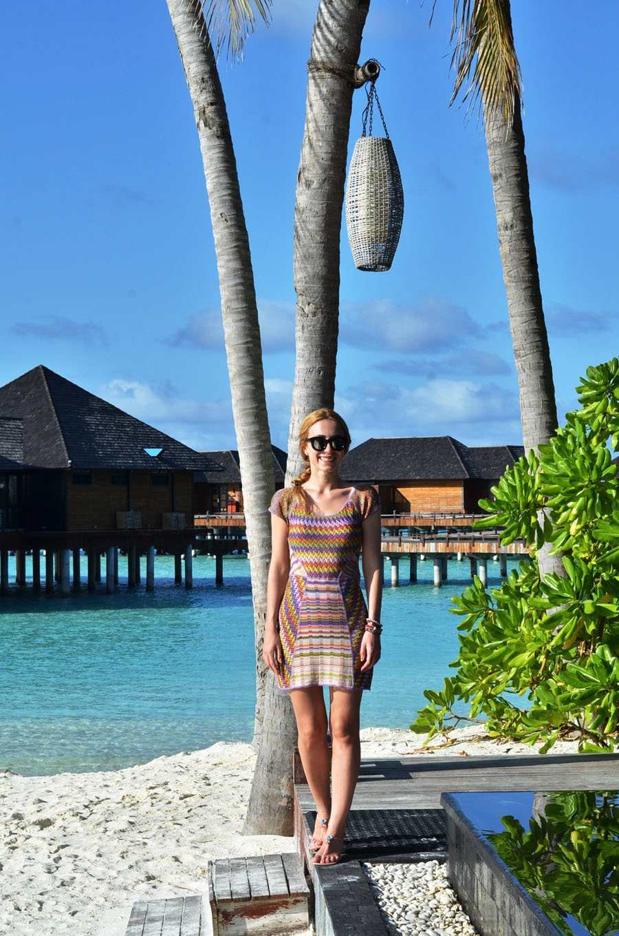 Missoni Dress Summer maldives Outfit / Stasha Fashion and Travel Blog