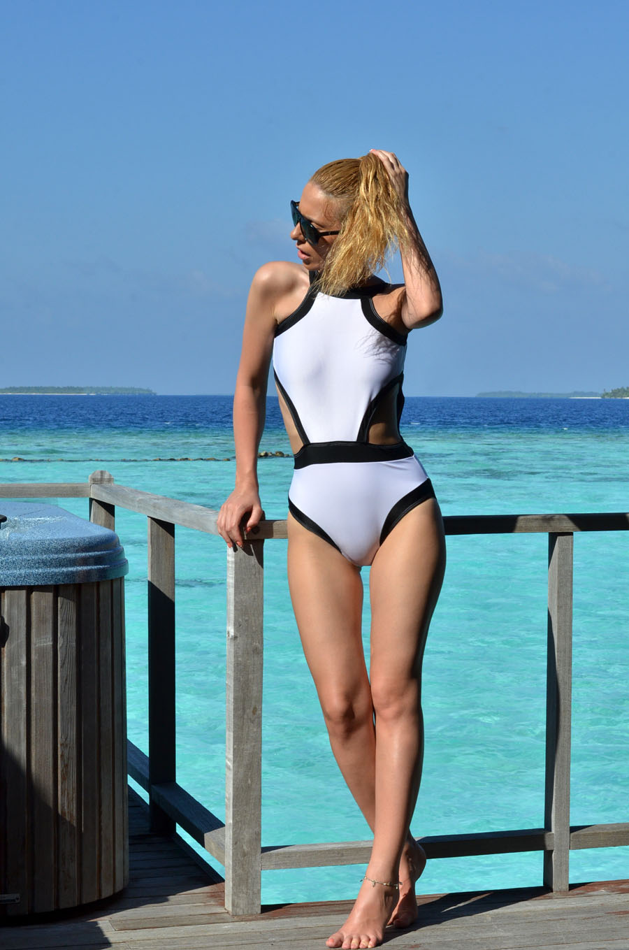 One Piece Swimsuit - Stasha fashion & Travel Blog