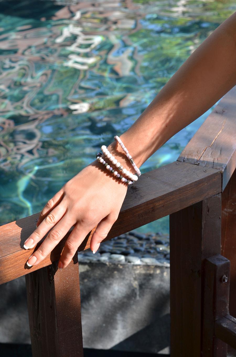 Tropical Paradise - bracelets detail / Stasha Fashion Blog