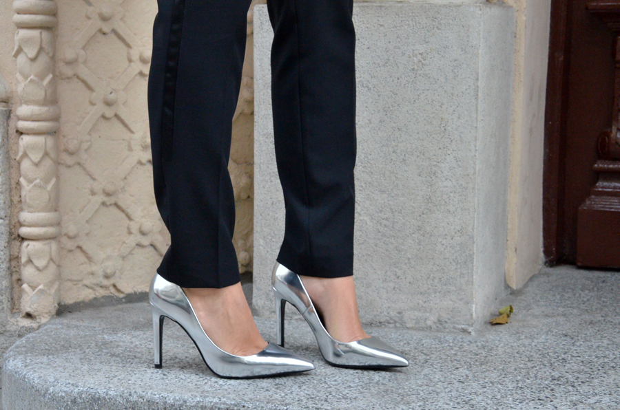 Silver shoes  / Stasha Fashion by Anastasija Milojevic